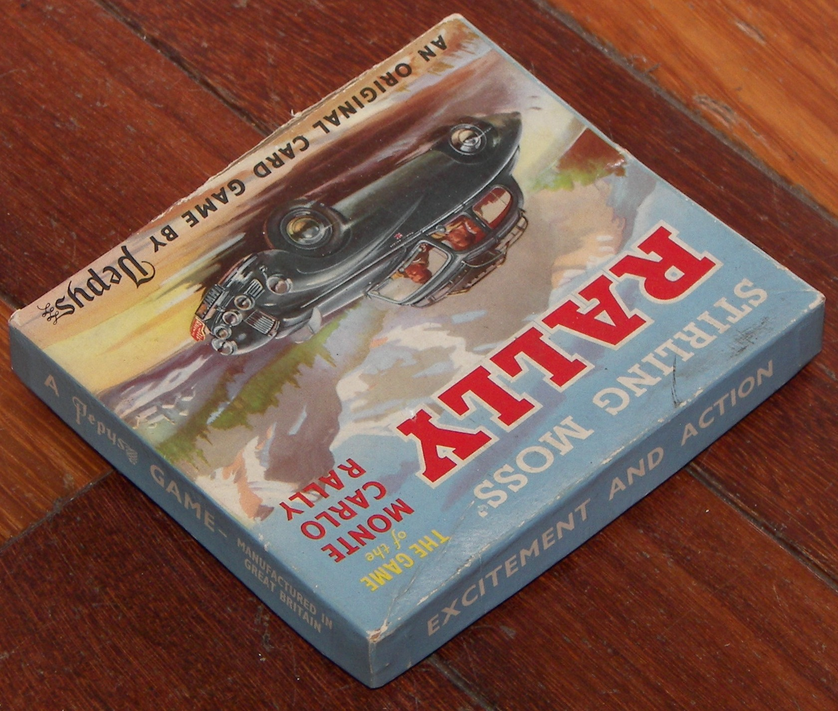 Vintage Games 2-6 Players The Game of the Monte Carlo Rally Pepys Series